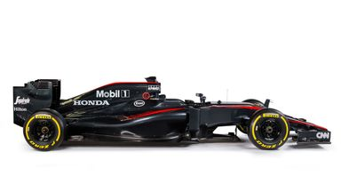 New look: McLaren MP4-30 (credit: mclaren.com)