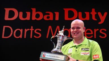 Michael van Gerwen: Dubai treble for Dutchman