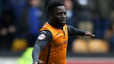 Injured Wolves striker Nouha Dicko
