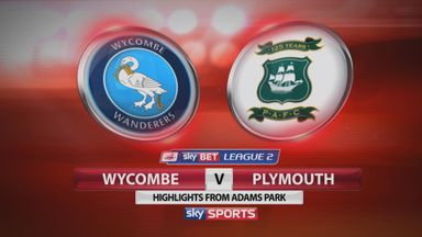 Wycombe 2-1 Plymouth (5-3 agg)