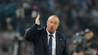 Rafael Benitez: Overwhelming favourite to take over at Real Madrid