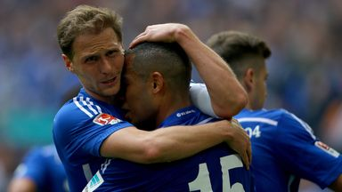 There was relief for Schalke on Saturday
