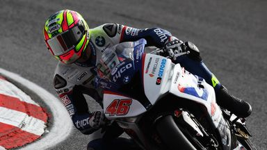 Tommy Bridewell of Great Britain and Tyco BMW Motorrad Racing