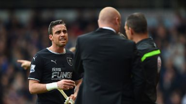 Michael Duff: Burnley appealing against red card