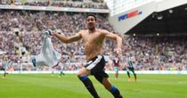 Jonas Gutierrez: Released by Newcastle despite heroics against West Ham