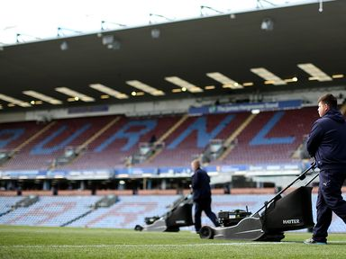 A Reading player was targeted by items thrown by home fans at Turf Moor