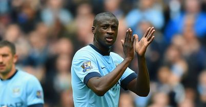 Yaya Toure: Sorry, but that was a Sergio Aguero solo goal