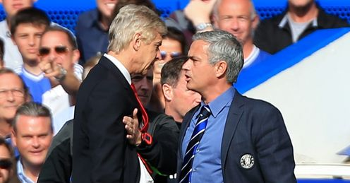 Jose Mourinho: Will battle Arsene Wenger for the title this season