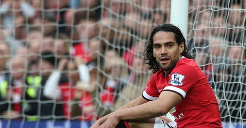 Radamel Falcao: The Colombian has struggled for form with Manchester United