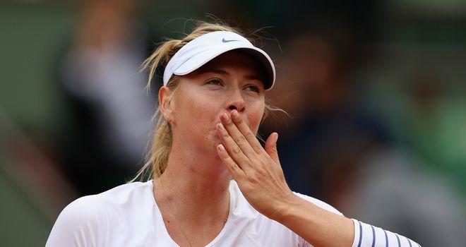 Maria Sharapova: Won the title in 2006