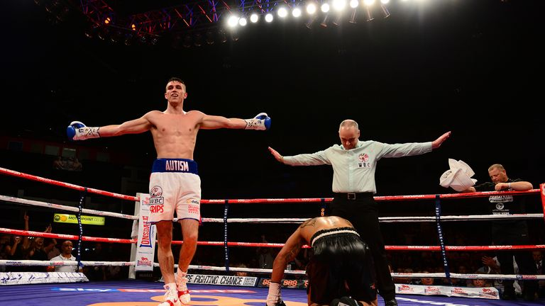 Callum Smith: Heading for the top, says Jim