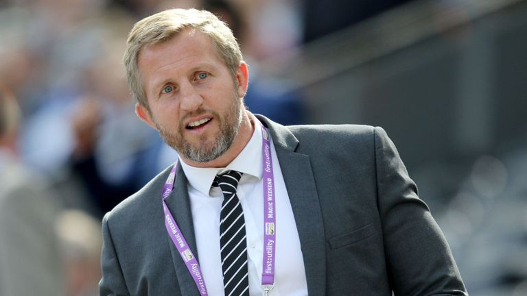 Denis Betts is delighted with the acquisition of Thompson