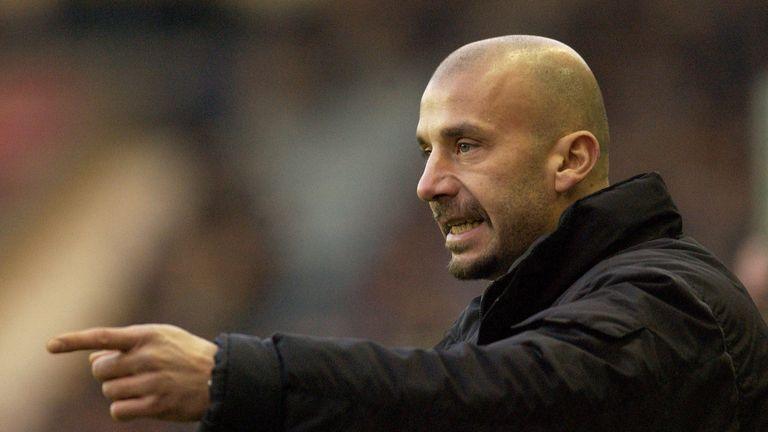 Gianluca Vialli was critical of Chelsea's transfer policy last summer