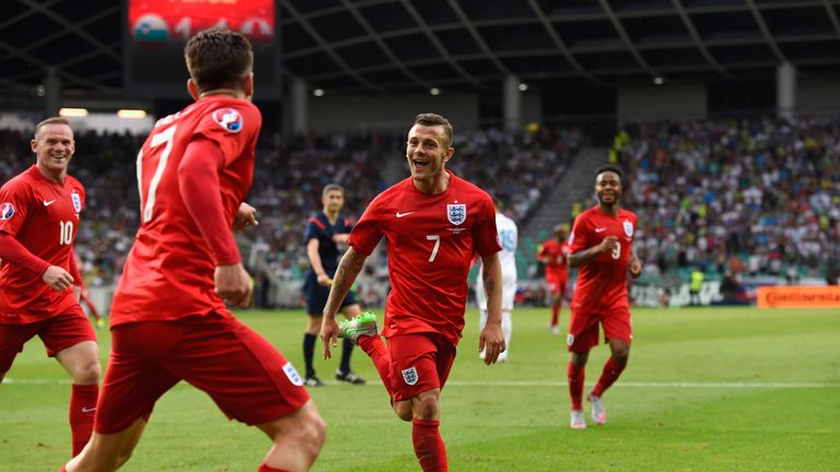 Jack Wilshere (C): Roy Hodgson has managed to get the best out of the Arsenal midfielder