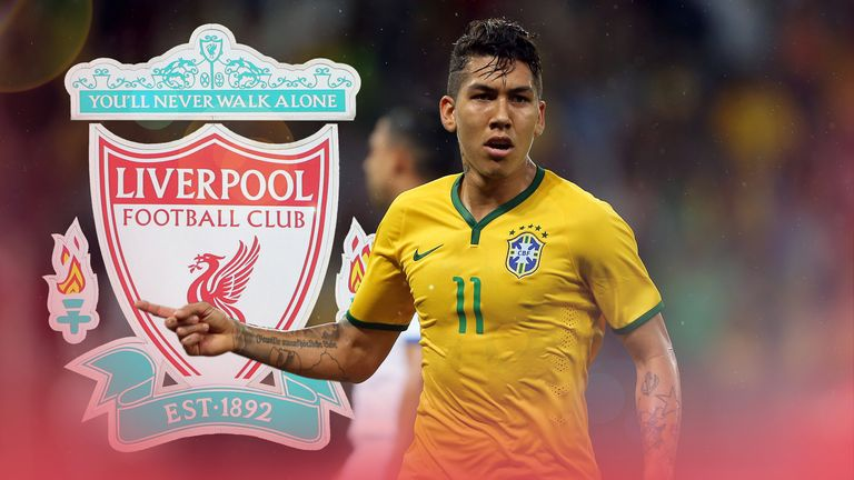 Roberto Firmino is starting to show what he can do at Liverpool
