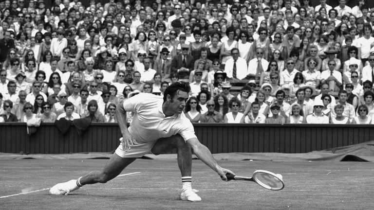 Roger Taylor, Wimbledon 1970