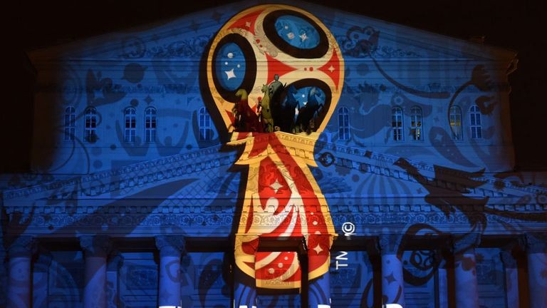 Moscow will be helping to host the World Cup in 2018