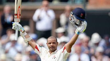 Ashwell Prince: Lancashire batsman scored 104 from 171 balls
