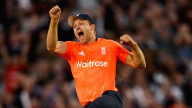 David Willey played a key role in England's T2O and ODI wins over New Zealand