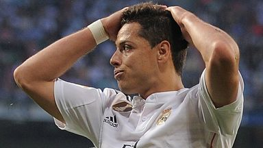 Javier Hernandez spent last season on loan at Real Madrid