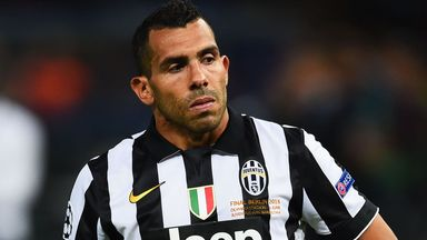 Carlos Tevez: Has left Juventus to re-join Boca Juniors