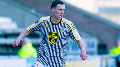 Alan Gow: In action for St Mirren against Kilmarnock last season