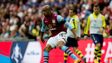 Fabian Delph: The Aston Villa midfielder helped the club reach the FA Cup final, where they lost to Arsenal