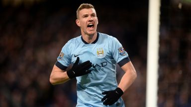 Edin Dzeko has agreed terms with Roma after he was limited to 11 league starts for Manchester City last season