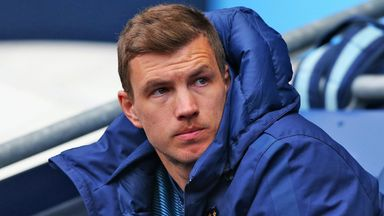 Edin Dzeko's agent says the striker wants to stay at Manchester City.