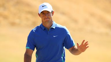 Rory McIlroy's ankle injury will keep him out of the Bridgestone Invitational