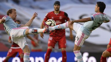 Michael Krohn-Dehli (left) has joined Sevilla on a two-year deal
