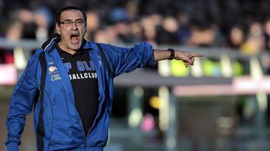 Maurizio Sarri spent three seasons in charge of Empoli