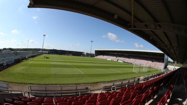Sixfields is the new home of Rod McDonald
