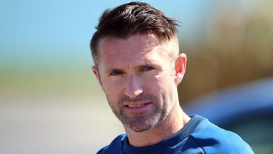 Robbie Keane: Trained on Friday with Republic of Ireland squad