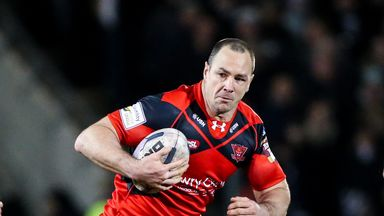 Adrian Morley: Poised to make his 550th career appearance on Tuesday night