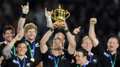 Hosts New Zealand were crowned winners of the most recent World Cup in 2011