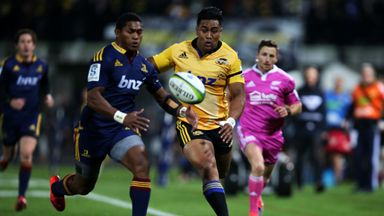 Julian Savea and Waisake Naholo line up against each other once again