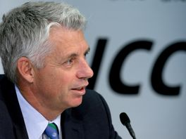 Chief Executive of the ICC David Richardson