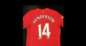 Henderson Signed Shirt