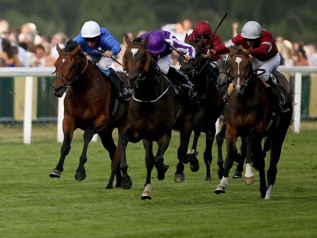Ryan Moore left it until the last race to claim his Royal Ascot winner on Friday, booting Aloft home in the Queen's Vase