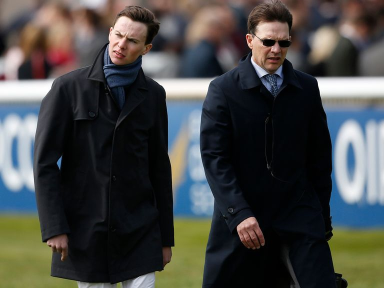 Aidan and Joseph O'Brien: Struck at Navan.