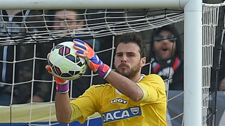 Watford sign Udinese goalkeeper Orestis Karnezis on loan