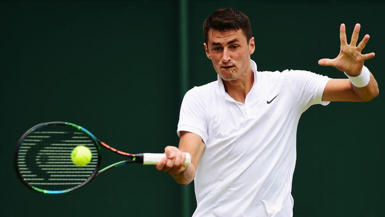 Bernard Tomic: Will face Novak Djokovic in the next round