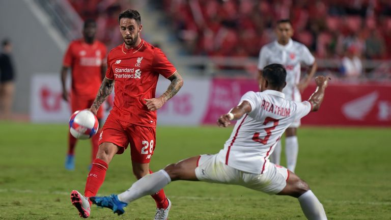 Former Burnley forward Danny Ings will offer competition for places in attack