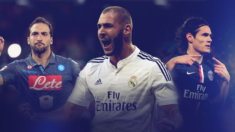 european-strikers-higuain-benzema-cavani