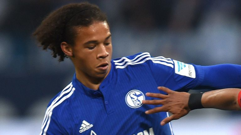 Leroy Sane has been linked with a January move to Manchester City