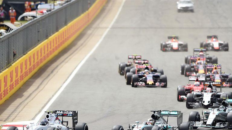 Under threat? The start of this year's British GP