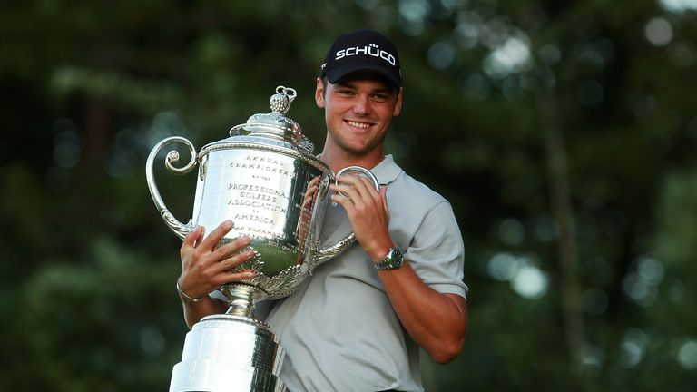 Martin Kaymer secured his first major at Whistling Straights