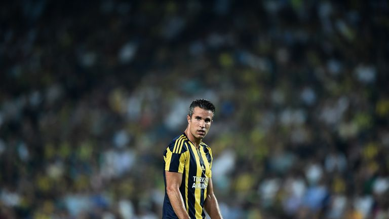 Robin Van Persie appears to have been frozen out at Fenerbahce