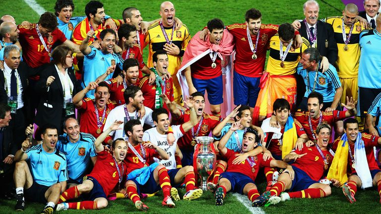 Spain's Euro 2012 victory now has little bearing on their world ranking